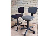 2 x Swivel Office Chairs