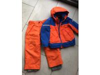 #BR1 Boys ski jacket and trousers age 6