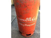 forklift propane bottle
