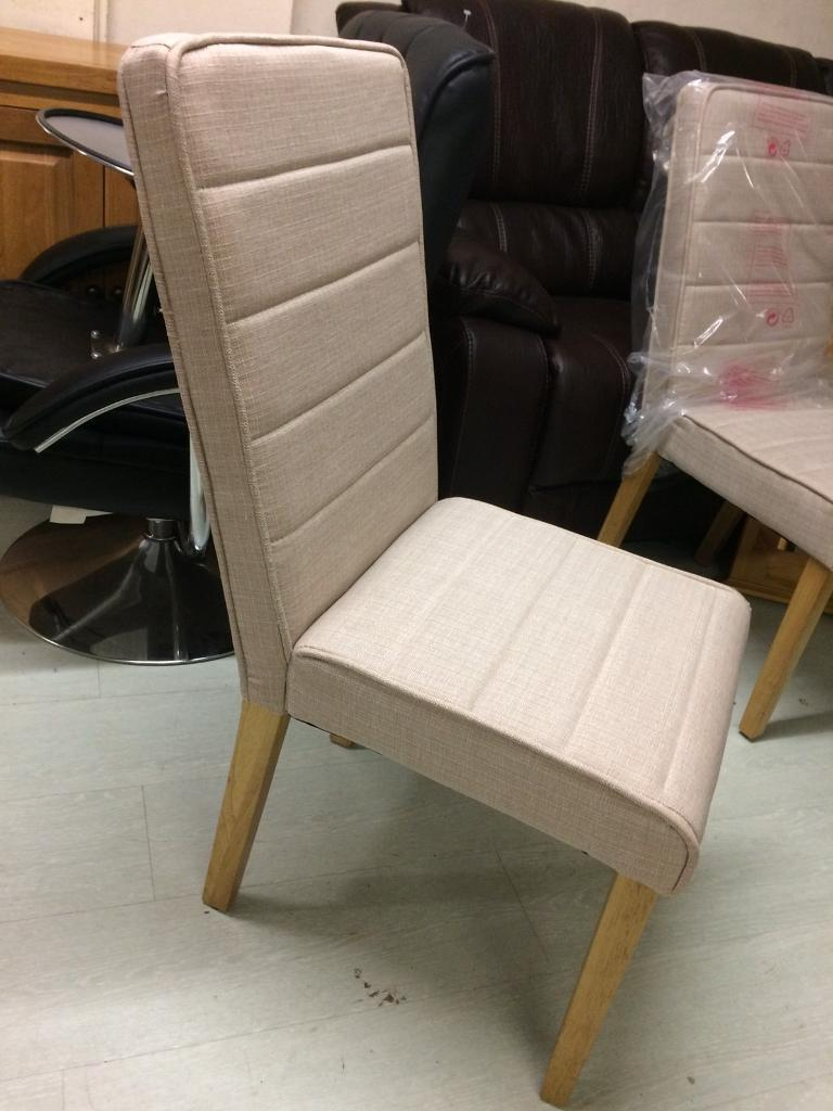 Oat chairs new £45 each