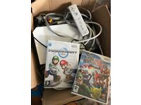 PlayStation 2 + controls + wii misc + games