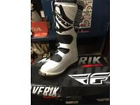 Fly moto x boots size 10 like new