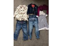 Bundle of girls designer clothing, 3-4yrs