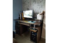 Computer/Laptop Desk with Shelves and Drawers