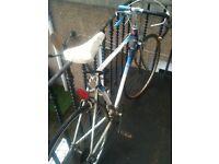 Racing bike. Vintage racing bike. Bike