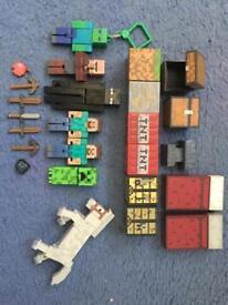 Minecraft toy set