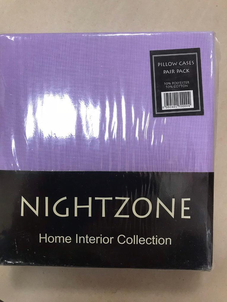 NIGHTZONE PILLOWCASES