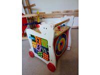 Toy box storage/ baby waker