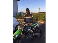 Kx 250f 2010 NEED TO BE SOLD FOR SPACE