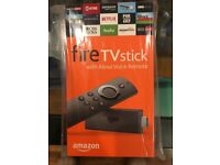 Brand NEW Factory Sealed, Never Opened, 2nd Generation Fire TV Stick with Alexa Voice Remote