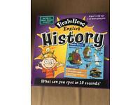 Brainbox History memory recall game