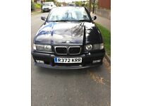 BMW M3 EVOLUTION ,BLACK CONVERTIBLE, 2 OWNERS, 87K, FSH EXCELLENT CONDITION,MOT, LOADS OF PAPERWORK