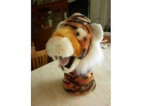 Hand glove puppet - lion's head