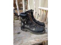 Men's Harley Davidson boots. Size 10.5