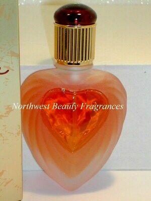 VICTORIA SECRET RAPTURE COLOGNE SPRAY CLASSIC ORIGINAL HEART PERFUME BOTTLE NOS