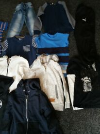boys clothes bundle size 8-9 years