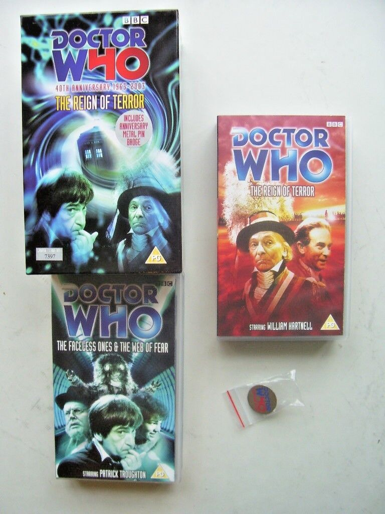 Doctor Who Reign of Terror & Web of Fear Box Set  7397