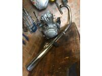 Honda cg125 engine