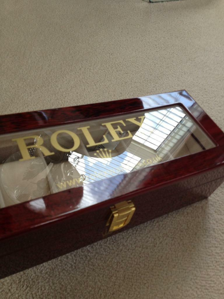 Rolex Watch Case Display Box In Kelty Fife Gumtree