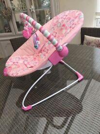Deluxe baby bouncer/chair