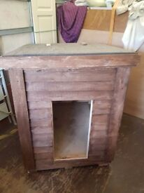Handmade dog kennels