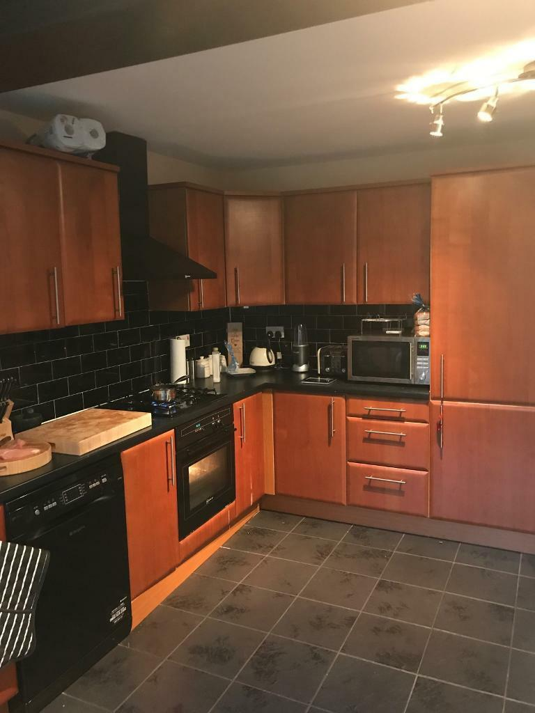 all kitchen cupboard units and work top
