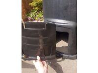 330 litre Large compost converter/ compost bin/ composter
