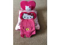 Build a bear bundle - chair bed, Hello Kitty Bedding and a carrier