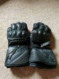Alpine stars motorcycle gloves large