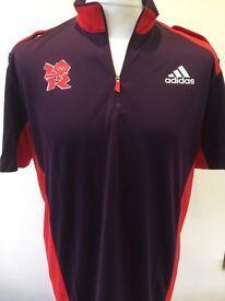 Mens - Adidas - Original London 2012 Olympics Games - T-Shirt - Large - BNWT