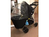 Graco Mirage pram +Mothercare weather shield