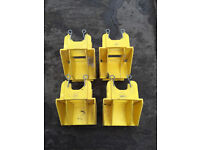 16 Boss Youngman toeboard clips holders for scaffold tower - £4 EACH