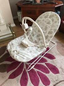 Toddlers bouncy chair