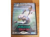 Would cup Italian 90 megadrive game