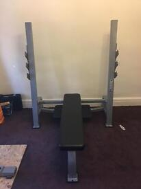 York STS Flat Olympic Bench (Full commercial)