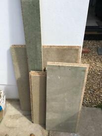 Small selection of caber flooring