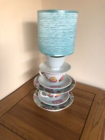 TEACUP AND SAUCER LAMPS