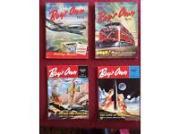 4 X boy's own books