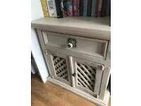 Shabby chic cupboard unit drawer £25ono