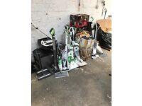 Joblot / pallet / export appliances. Vacuum. Blender. Coffee maker. Kettle. Iron. Steam mop ect