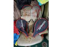For sale 2 donnay Tennis Rackets Tele 07957 093667