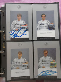 COLLECTABLES RACING CAR CARDS