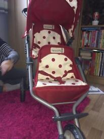 MAMAS AND PAPAS DOUBLE PUSHCHAIR