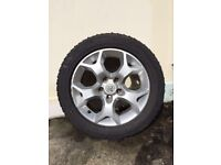spare wheel for vauxhall vectra/zafira