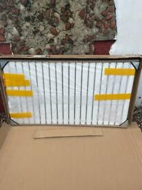 White double oval radiator