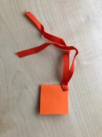 20 x Gift Tags - assorted colours (Size 4.3cm x 4.3cm) @ £1