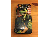 Zombie Cop apple iPhone 4s designer Case cover rare Designer case by Trystan Mitchell