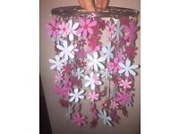 Next Floral Lampshade Pink