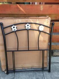 Brand new metal headboard for single bed