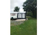 2002 Coachman Caravan For Sale Sited on R iverside Caravan Park NR Builth Wells LD4 4BY